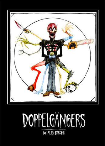 Alex Pardee - Doppelgangers, Hardcover - The Giant Peach