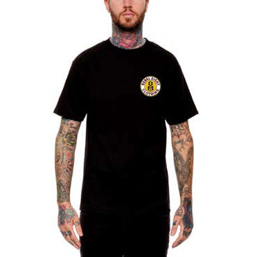 REBEL8 - Dressed To Kill Men's Shirt, Black