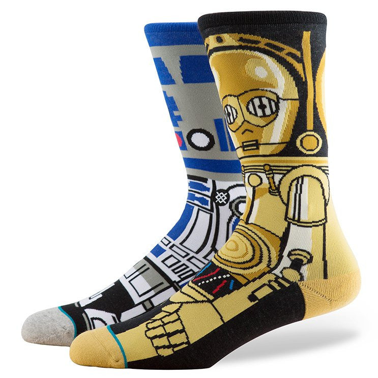 Stance - Droid Men's Socks, Blue - The Giant Peach
