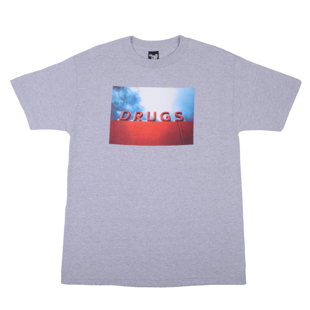 The Quiet Life - Drugs Men's Tee, Heather Grey - The Giant Peach