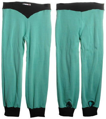 Nicacelly - Ninja Women's Pants, Electric Jade - The Giant Peach