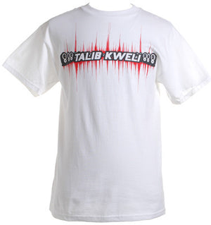 Talib Kweli - Sound Wave Men's Shirt, White - The Giant Peach