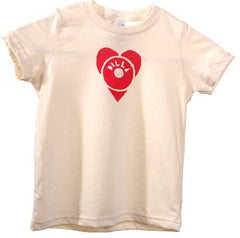 J Dilla - Dilla Heart Toddler Shirt, Natural - The Giant Peach