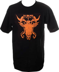 DJ Big Wiz - Animal Skull Men's Shirt, Black - The Giant Peach