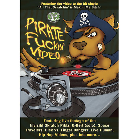 Pirate Fuckin' Video 100, DVD