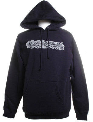 El-P - Burner Hoodie, Navy Blue - The Giant Peach