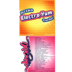 DJ Eko - Electro Yum Turbo!, Mixed CD - The Giant Peach