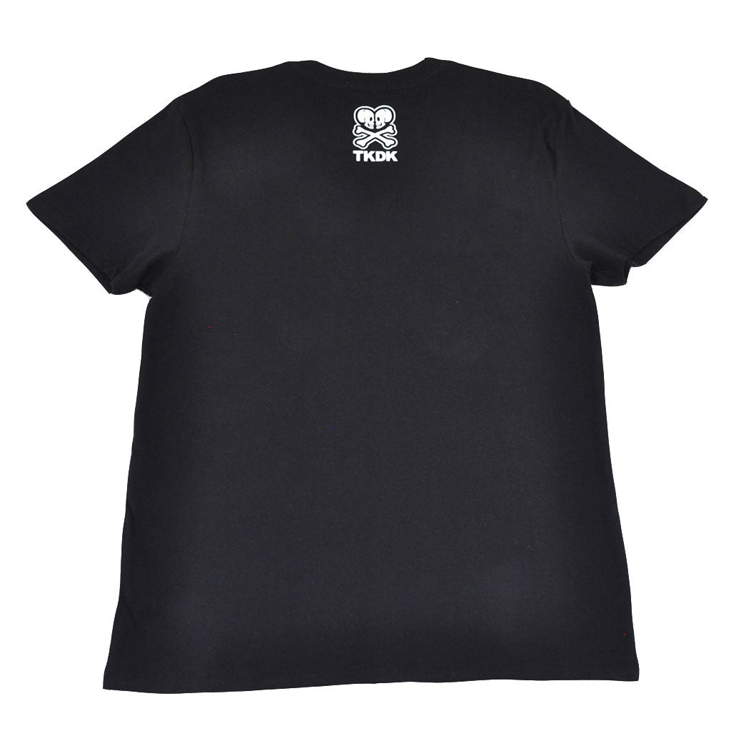 tokidoki TKDK - Emblem Men's Shirt, Black - The Giant Peach