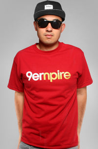 Adapt - Empire Men's Shirt, Red - The Giant Peach
