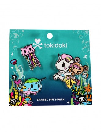 tokidoki - Sea Punk Enamel Pin 3-Pack
