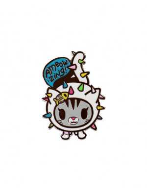 tokidoki - Carina Enamel Pin - The Giant Peach