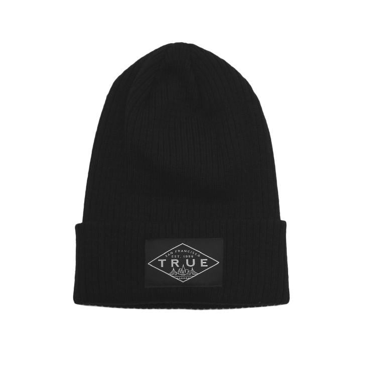 TRUE - Establishd Basic Beanie, Black