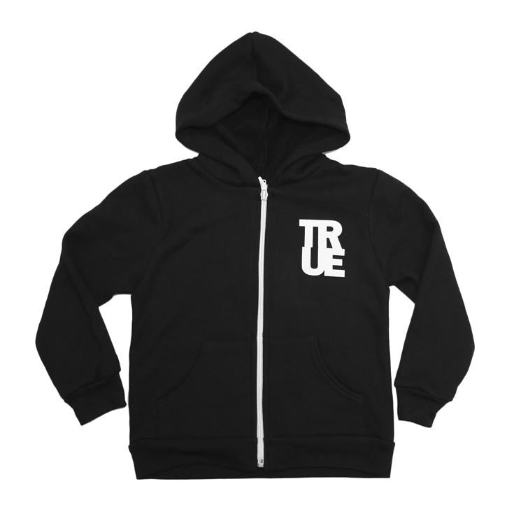 TRUE - Established Basic Kids Hoodie, Black