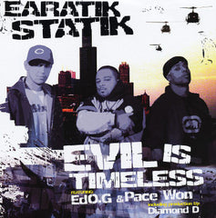 "Earatik Statik - Evil Is Timeless/IILstate MASSive, 12"" Vinyl - The Giant Peach"