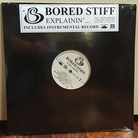 Bored Stiff - Explainin' (20th Anniversary), 2xLP