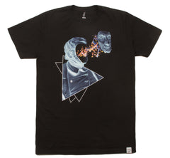 Imaginary Foundation - Face Off Men's Shirt, Black - The Giant Peach