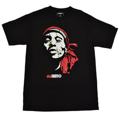 delHIERO - Face Del Men's Shirt, Black - The Giant Peach