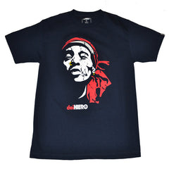 delHIERO - Face Del Men's Shirt, Navy - The Giant Peach