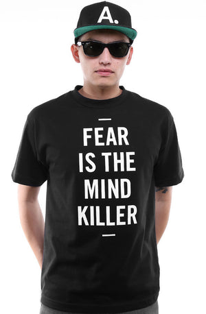 Adapt - Fear is the Mind Killer Men's Tee,  Black - The Giant Peach
