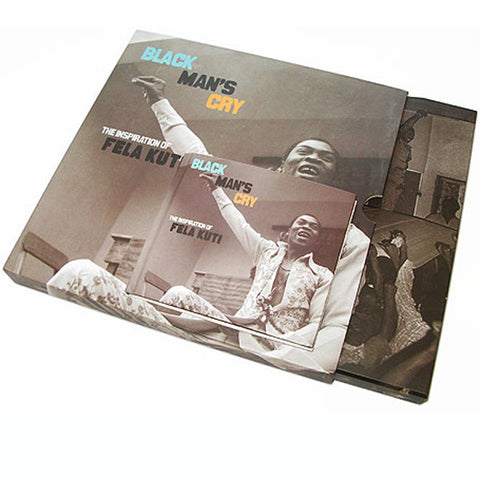 "Black Man's Cry, The Inspiration of Fela Kuti,  4x10"" Vinyl Box Set"