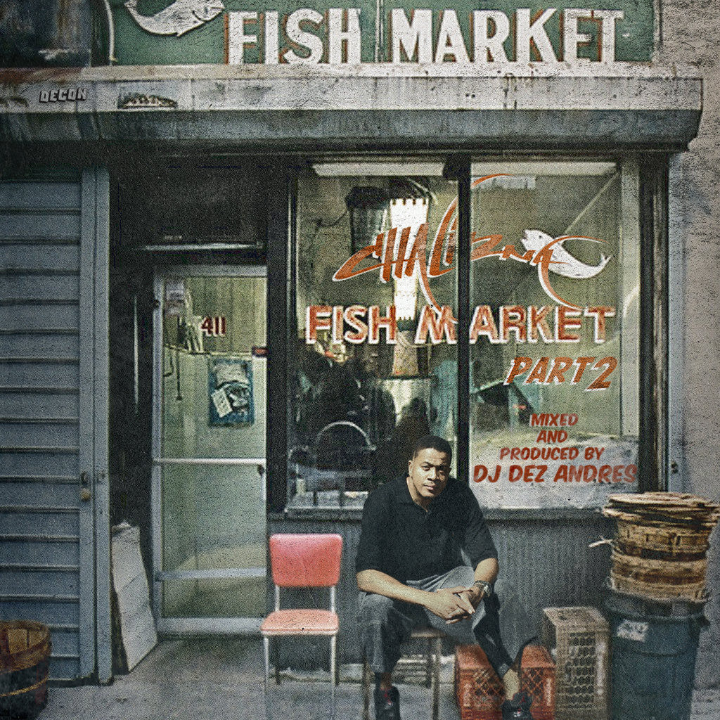 Chali 2na (of Jurassic 5) - Fish Market Part 2, CD - The Giant Peach