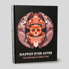 Jeremy Fish - Happily Ever After Hardback - The Giant Peach - 1