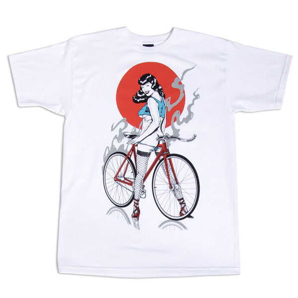 FIFTY24SF Gallery - Joe King Fixie Men's Shirt, White - The Giant Peach