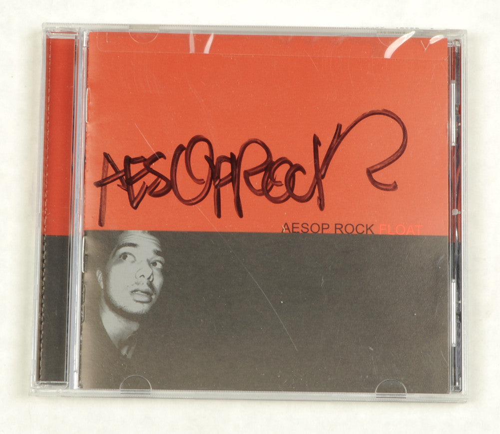Aesop Rock - Float CD (autographed) - The Giant Peach