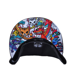 tokidoki - Fly Away Snapback Hat, Grey - The Giant Peach