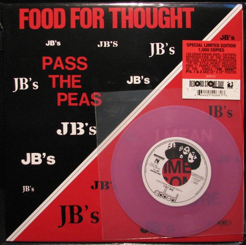 "The J.B.'s - Food For Thought, LP vinyl + bonus 7"" - The Giant Peach"