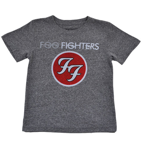 Foo Fighters - Logo Toddler Tee, Heather Grey