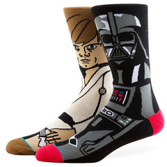 Stance - Force Men's Socks, Black - The Giant Peach