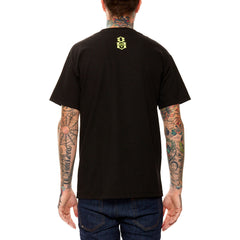 REBEL8 - Fried Men's Shirt, Black - The Giant Peach - 2