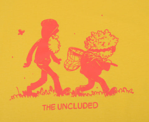 The Uncluded - Frog Hunt Girl's Shirt, Sunshine