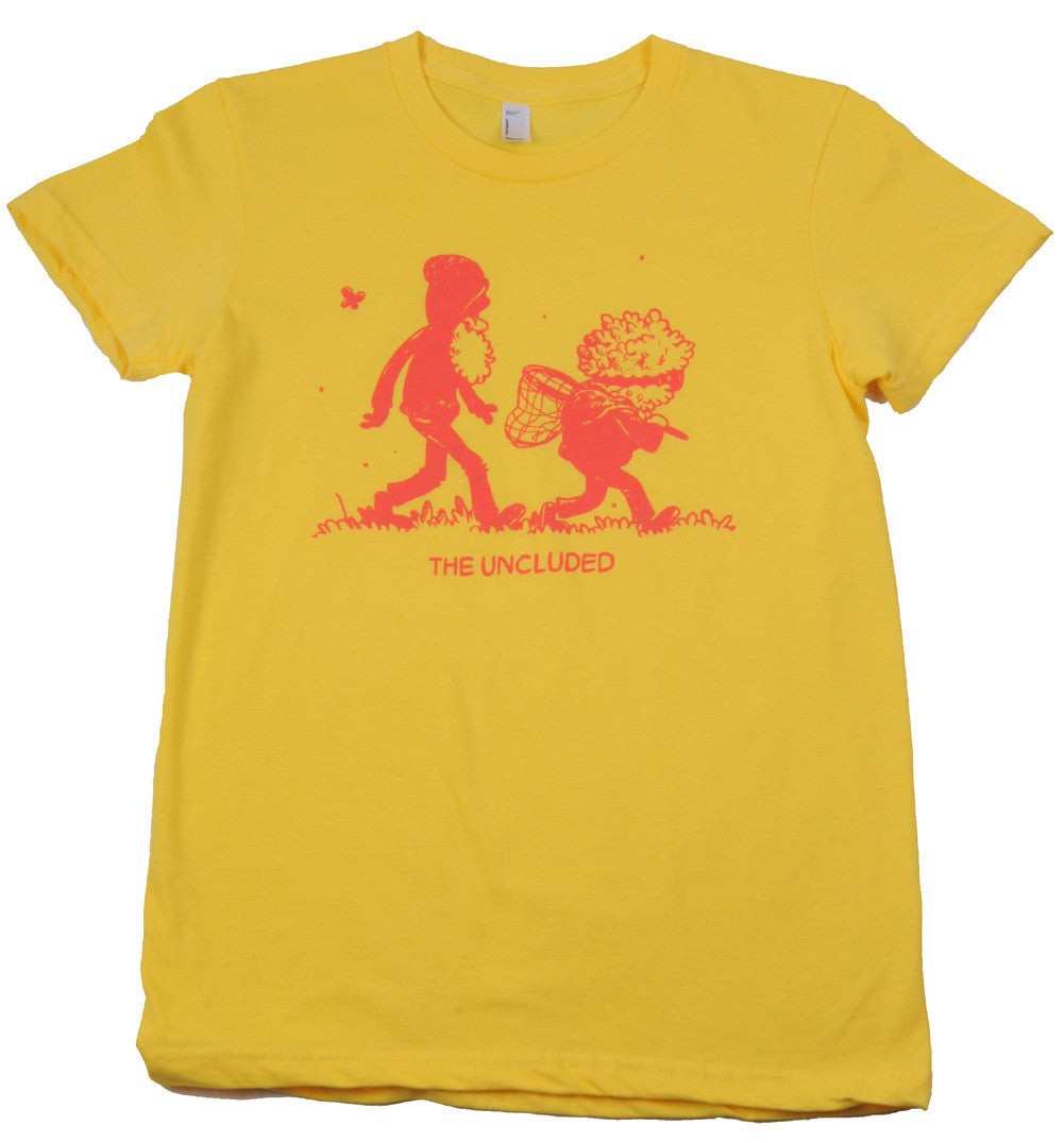 The Uncluded - Frog Hunt Girl's Shirt, Sunshine - The Giant Peach - 1