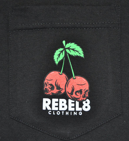 REBEL8 - Fruits of Labor Men's Shirt, Black