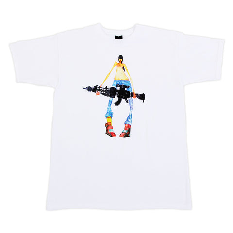 FIFTY24SF - David Choe Nothing to Declare Men's Shirt, White