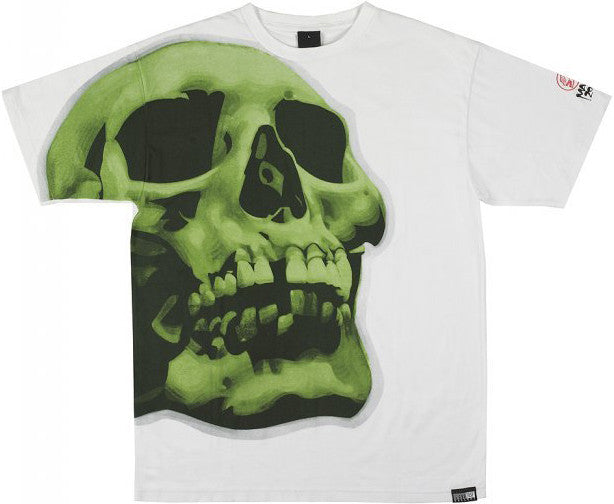 FIFTY24SF Gallery - Mac Skull Men's Shirt, White - The Giant Peach - 1
