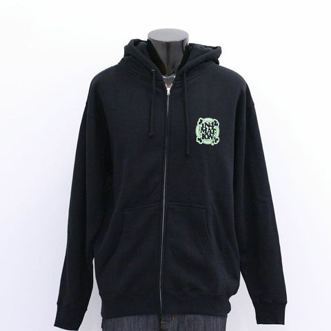 in4mation - FYI Eye Know Zip Hoodie, Black