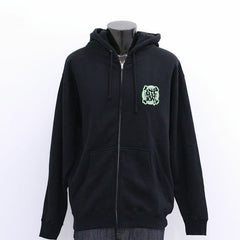 in4mation - FYI Eye Know Zip Hoodie, Black - The Giant Peach - 2