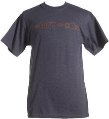 GIFT OF GAB - Logo Shirt, Charcoal - The Giant Peach