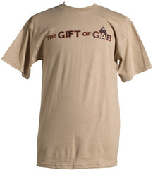 GIFT OF GAB - Logo Shirt, Khaki - The Giant Peach