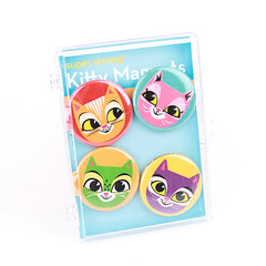 Gama-Go - Kitty Magnet Set - The Giant Peach