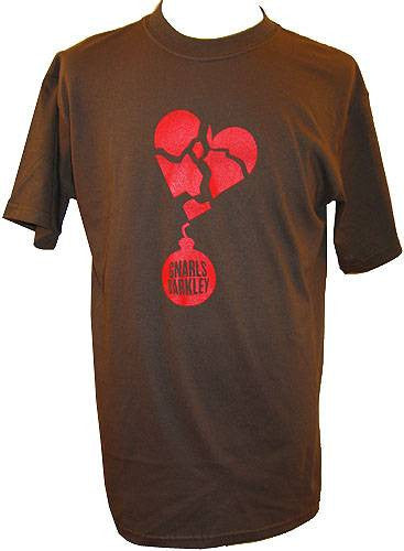 Gnarls Barkley - Lovebomb Men's Shirt, Olive Brown - The Giant Peach
