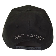 TRUE - Get Faded Snapback, Black - The Giant Peach - 5