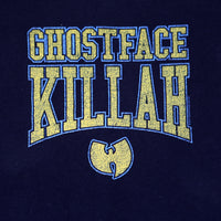 Wu-Tang Clan - Ghostface Killah Gold Logo Men's Shirt, Black