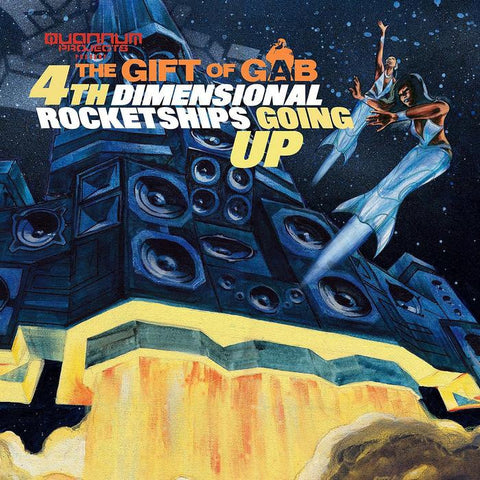 GIFT OF GAB - 4th Dimensional Rocketships Going Up, CD