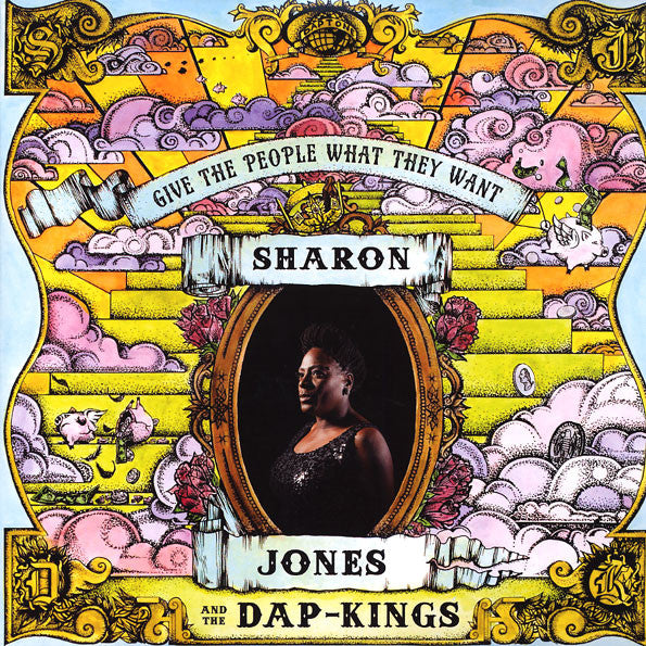 Sharon Jones & The Dap-Kings - Give The People What They Want, LP - The Giant Peach