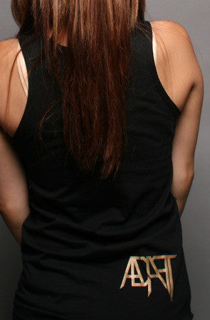 Adapt - Gold Blooded Women's Tank Top, Black