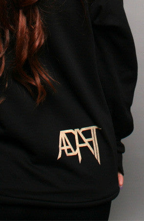 Adapt - Gold Blooded  Women's Hoodie, Black
